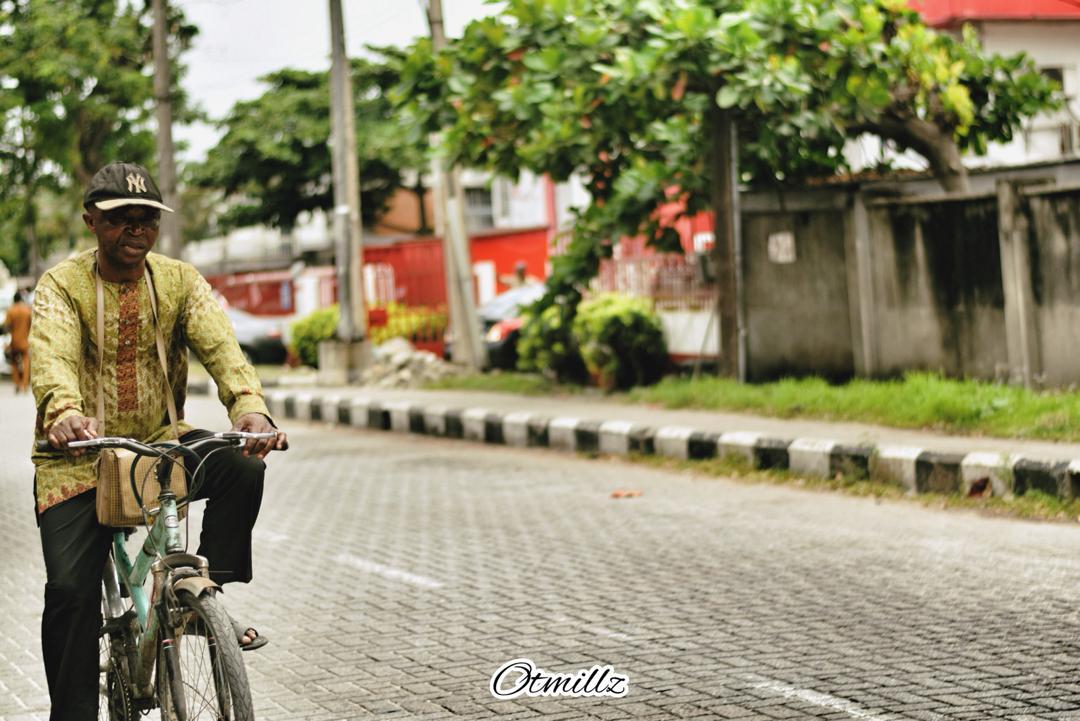 Man on Bike By Otmillz