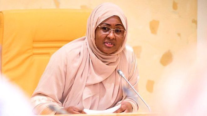 Aisha Buhari Now Wants To Be called First Lady