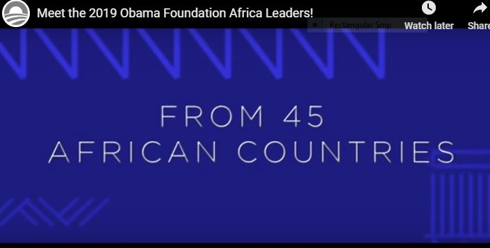 Obama Foundation Leaders Shortlist
