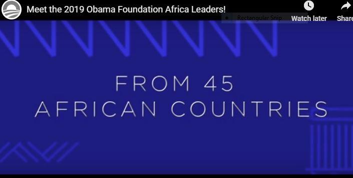 Obama Foundation Leaders Shortlist