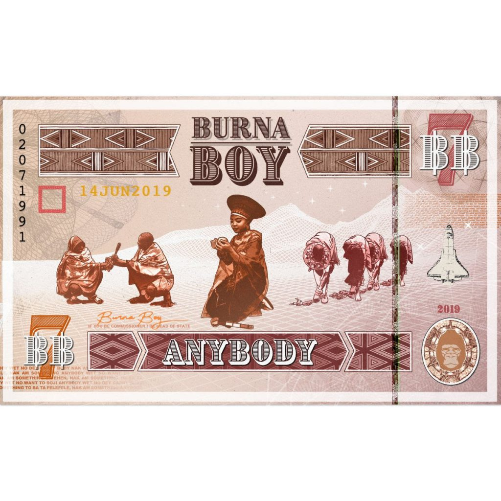 New Music Video: 'Anybody' A Personal Letter From Burna Boy