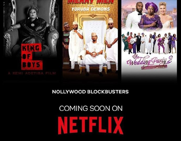 Wedding Party 2.Netflix Acquires King Of Boys The Wedding Party 2 Merry Men