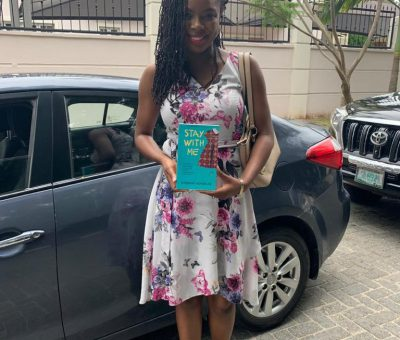 "Ayobami Adebayo Author of ""Stay with me"""