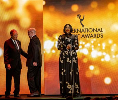 Mo Abudu Chairs the 47th International Emmy Awards.