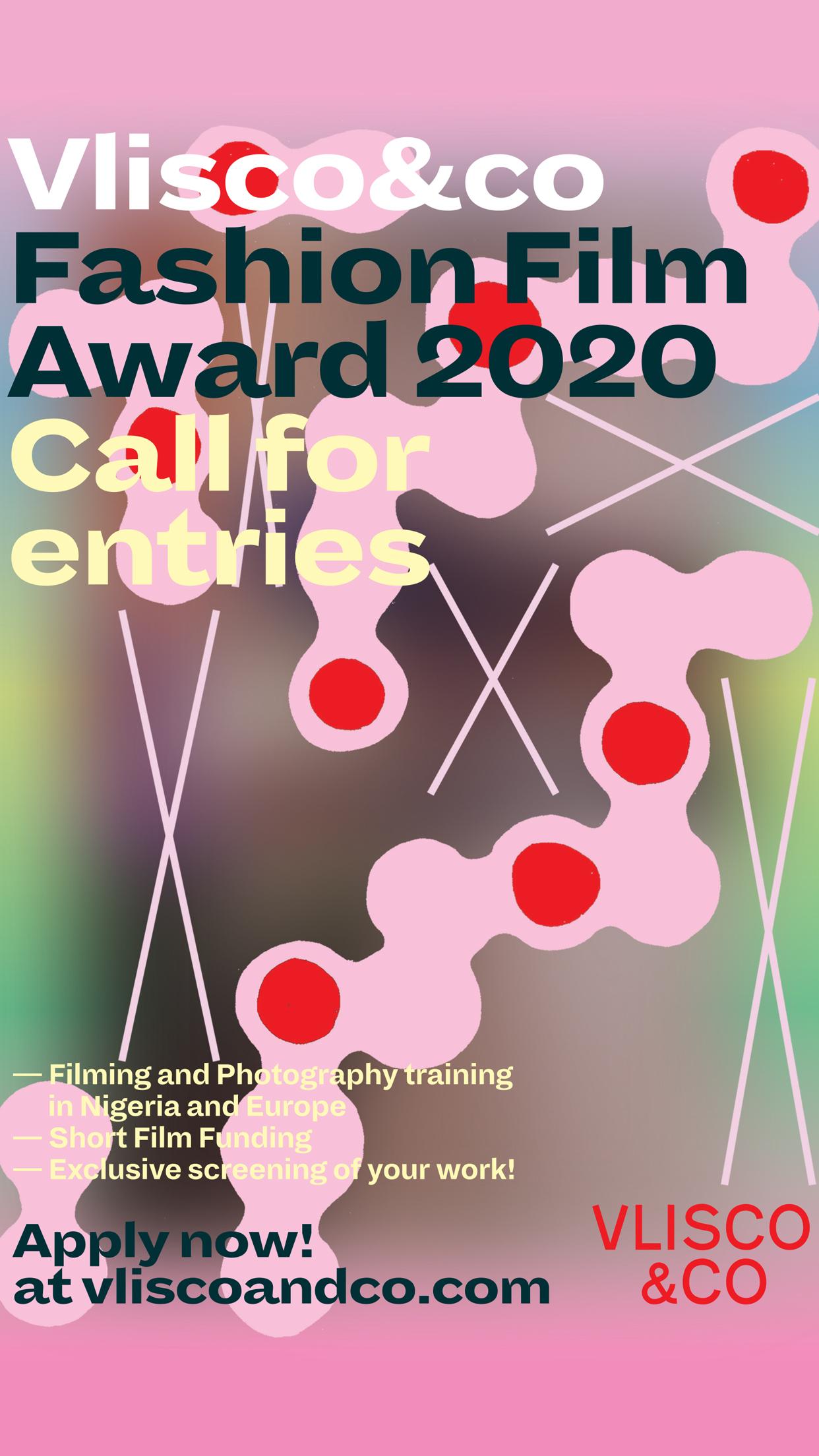 Vlisco&co's Fashion Film Award 2020.