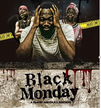 """Black Monday"" Poster"