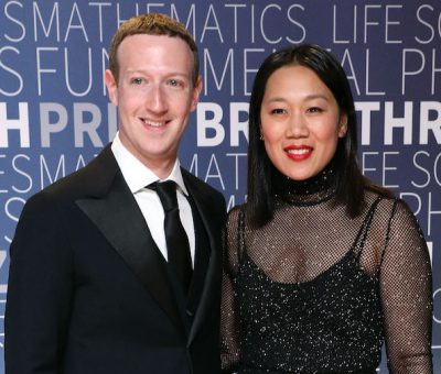 Mark and Chan Zuckerberg