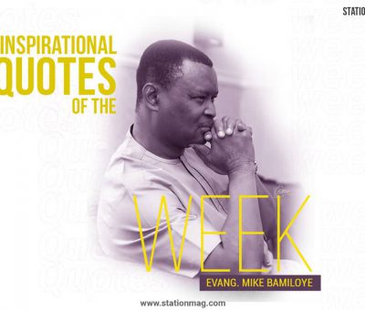 Quotes By Mike Bamiloye