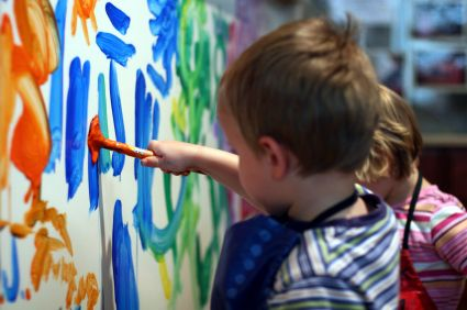 Children Art helps them write