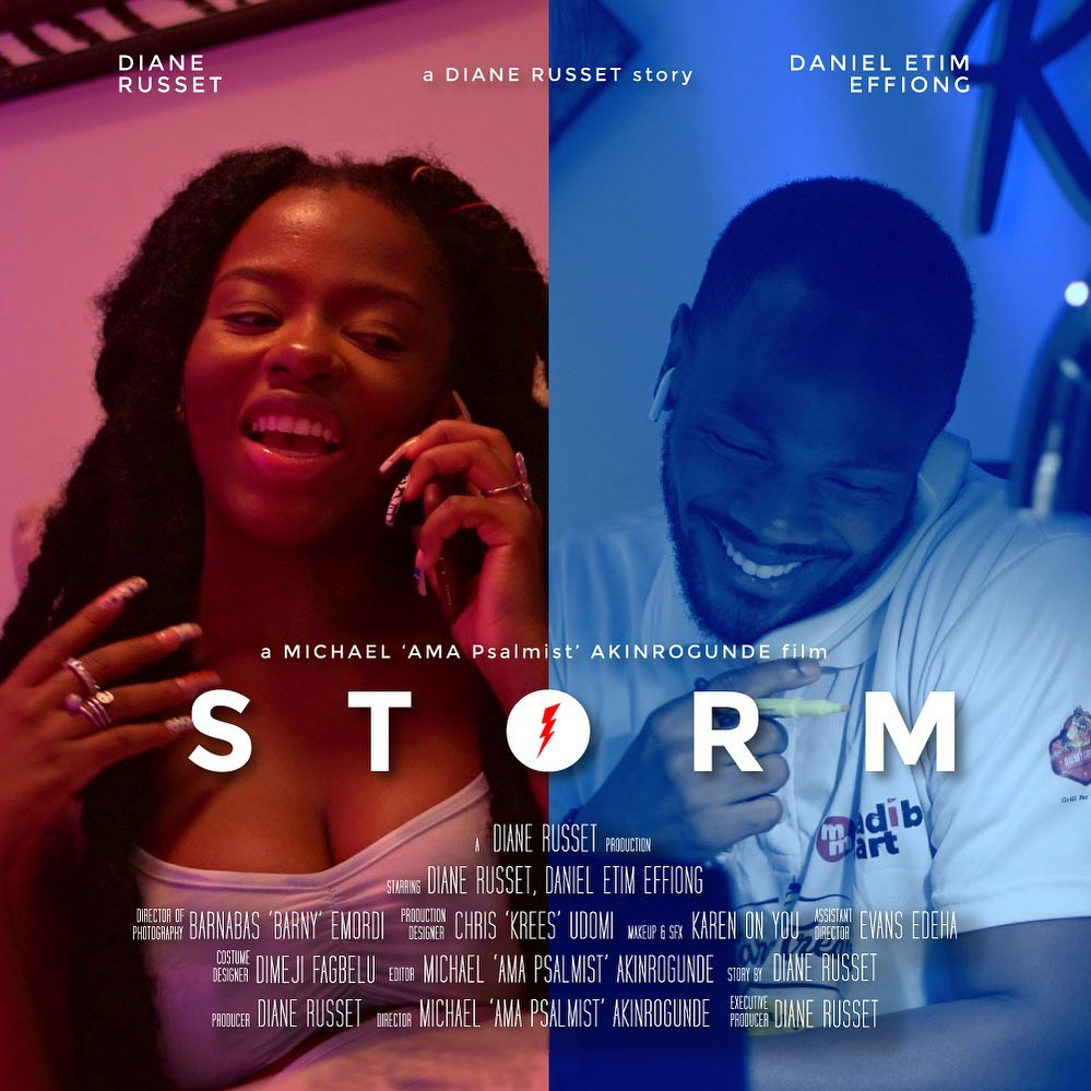 "Short film ""Storm"" by Diana Russet"