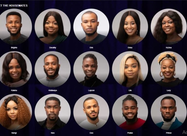 BBNaija Season 5 Contestants