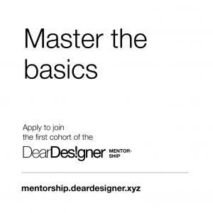 DearDesigner Mentorship Program