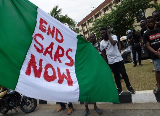 Protest for the end of SARS