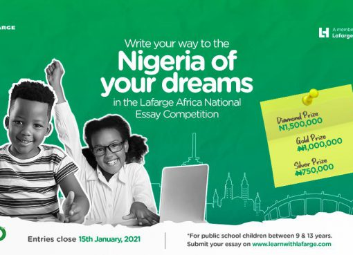 Lafarge Cement Essay Competition