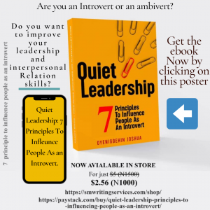Quiet Leadership: How To Influence People As an Introvert
