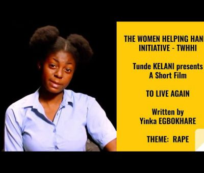 "Tunde Kelani Short Film on Rape Title ""To Live Again"""