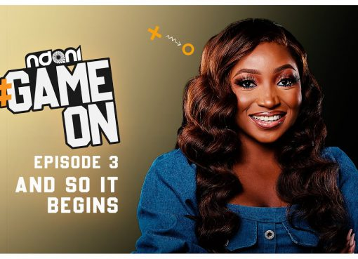 "Ndani Tv Web series ""Game on"" featuring Ebenezer Eno, Omowunmi Dada, Ian Wordi, Eso Dike, Taye Arimoro, Eve Bankongand directed byAbimbola Craig."